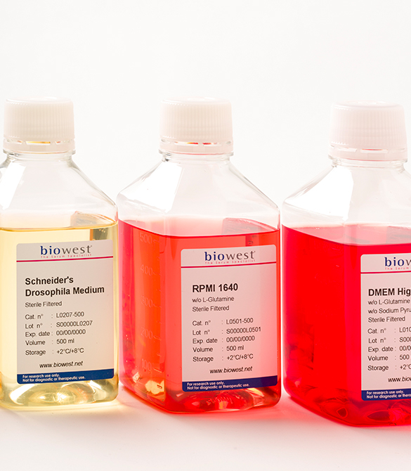 Biowest - Cell culture medium - group - 585x670px